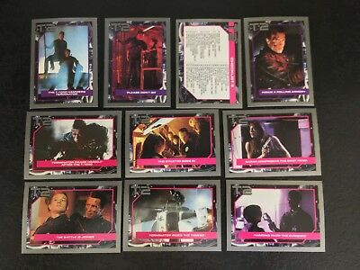 Terminator 2 Movie Trading Cards Mixed Lot Of 22