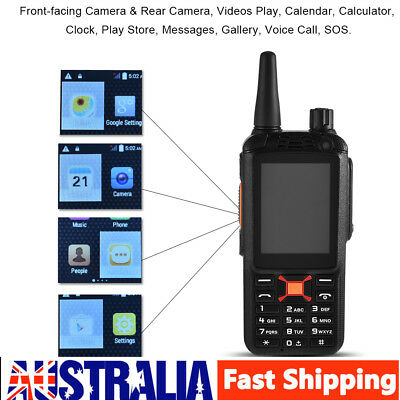 "2.4"" Handheld 3500mAh Walkie Talkie 3G WIFI Bluetooth Mobile Phone Dual SIM Slot"
