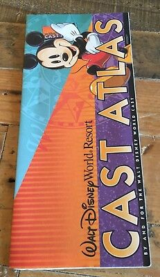 Walt Disney World Resort / CAST ATLAS / for Disney Cast Members /  2001 MAP