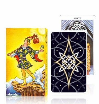 78 Rider Tarot Cards Radiant Deck Waite Smith artwork English full version fate
