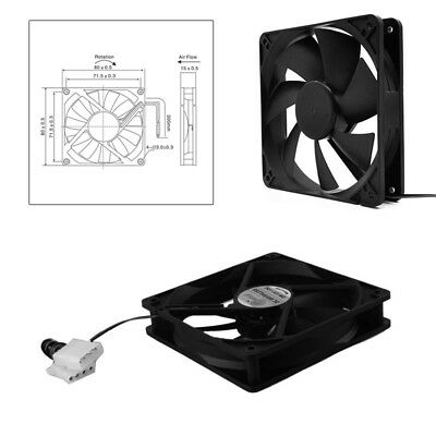 Computer Cooler 12cm PC Fan Host Chassis Fan Power Radiator 4P Cooler Fan