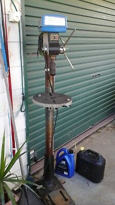 Hafco (Hare & Forbes) pedestal drill press standing 1500mm high.
