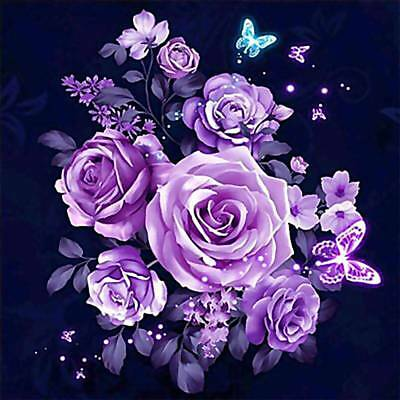 AU Full Drill DIY 5D Diamond Scenery Embroidery Art Painting Kits Home Decors