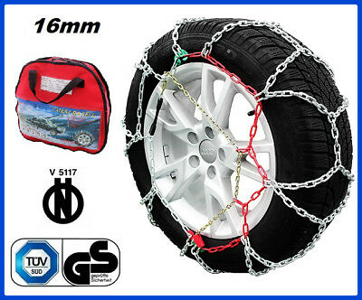 CATENE DA NEVE 4x4 SUV 16MM 225/75 R16 IVECO DAILY IV Pritsche/Fahrgestell [01/2