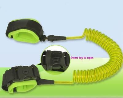 Kids Safety Leash Anti Lost Key Wrist Strap Baby Walk Child Toddler Link Harness