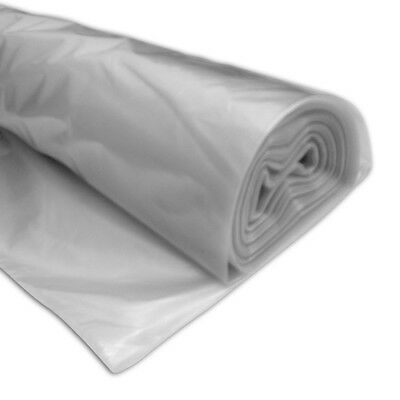 Eco TPS Temp Protective Clear Plastic Sheeting 25 x 4m Roll Vapour Dust Barrier