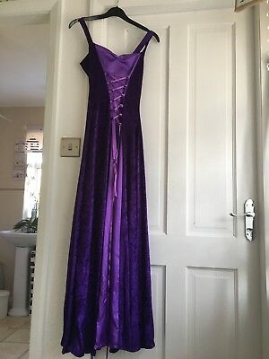 velvet medieval dress larp costume bridesmaids dress.