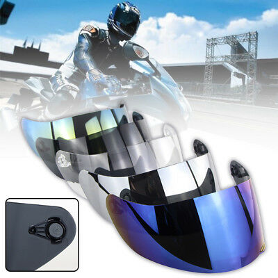 Anti-glare/UV Motorcycle Shield Helmet Full Face Lens Visor For AGV K1 K5 K3SV