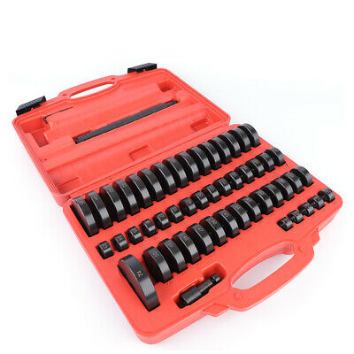 52 Piece Mounting disk Set Suitcase Tool Pressure pieces Installation Bearing