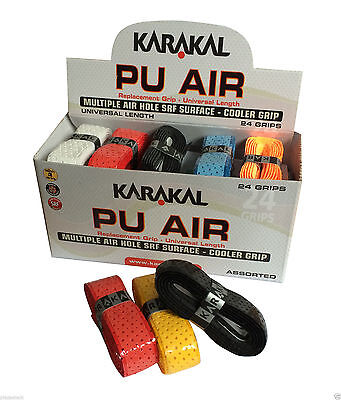 Karakal PU AIR Replacement Tennis, Squash, Badminton Perforated racket grip