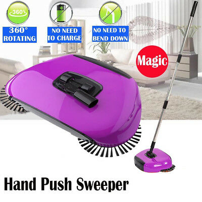 Automatische Hand Push Sweeper Spin Broom Boden Mop Reinigung Staub BETTER 08