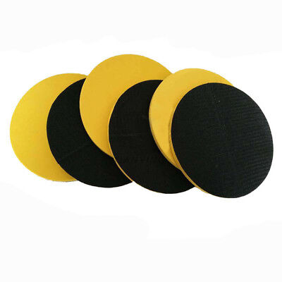 "1"" 2"" 3"" 4"" 5"" 6"" 7"" Hook Loop Sanding Disc Car Polishing Sponge Pad Backing Pad"