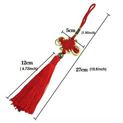 Chinese Tassel Lucky Knot New Year Decoration Talisman Good Luck Knot Xmas Gift