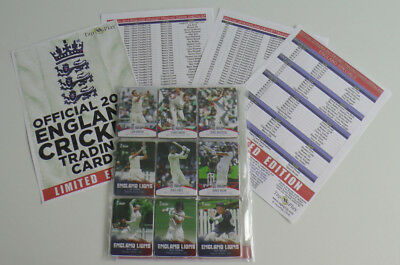 COMPLETE BASE SET of 100 ENGLAND CRICKET 2018 tap n play cards MINT CONDITION