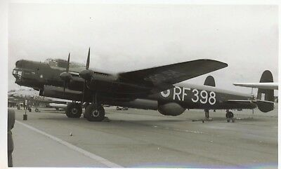Small Photograph Of An Avro Lincoln Bomber