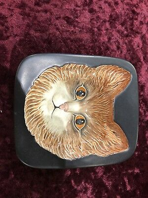 Extremely Rare Beswick Cat Wall Plaque No 2236