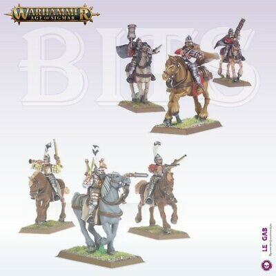 Bits Free Peoples Freeguild Pistoliers Outriders Empire Warhammer Aos