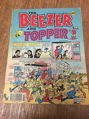 Beezer and Topper Comic No 134 April 10th 1993, Rare Combined issue