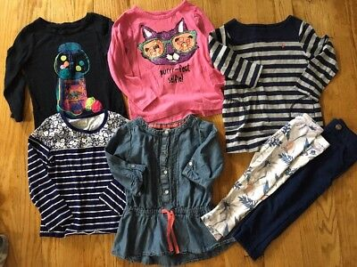 Lot Of Girls Clothes Size 3 3T Fall
