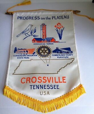 Crossville,Tennessee,Progress on the Plateau,Rotary International Banner