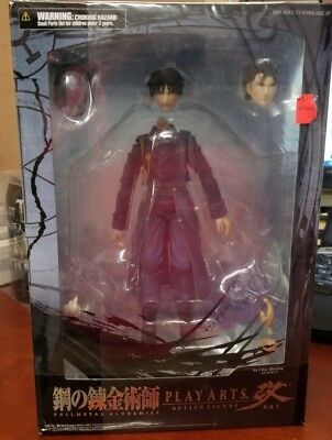 Fullmetal Alchemist Brotherhood: Roy Mustang Play Arts Kai Action Figure