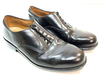 British army surplus black leather parade shoes  RAF cadet
