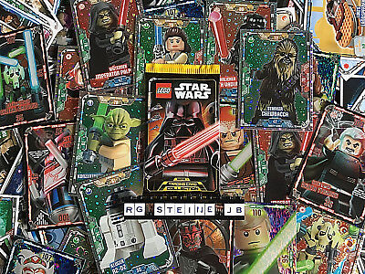 Lego Star Wars Serie 1 Trading Card Cards Collection aus 250 Karten aussuchen