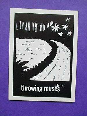Throwing Muses ORIGINAL PROMO POSTCARD Shark 1996 4AD kristin hersh belly limbo