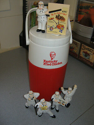 Kentucky Fried Chicken Collectible Figurines & Drink Flask