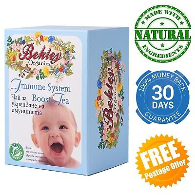 Immune System Boosting Tea for babies children infants toddler immunity herbs