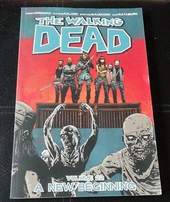 The Walking Dead vol volume 22 graphic novel - A New Beginning FREE POSTAGE!