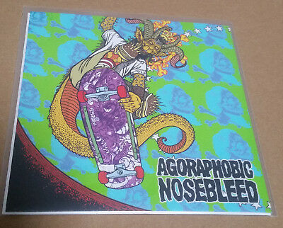 Agoraphobic Nosebleed/Total Fucking Destruction  Split 7""