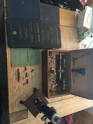 GaucheJoblot Vintage Quality reform watch makers LATHE/& Tools,books,microscope