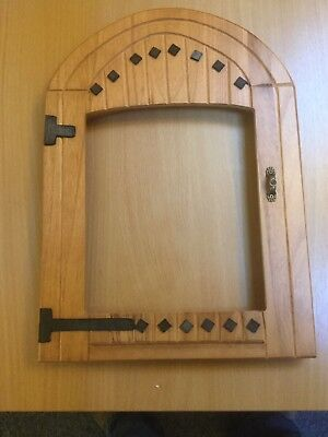 Doors4paws  Priory Door Surround For Your Ugly Cat Flap.   Signed For Postage
