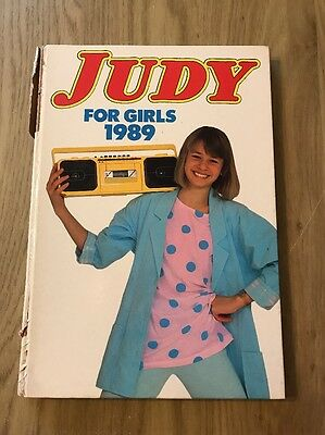 Judy For Girls 1989 Annual