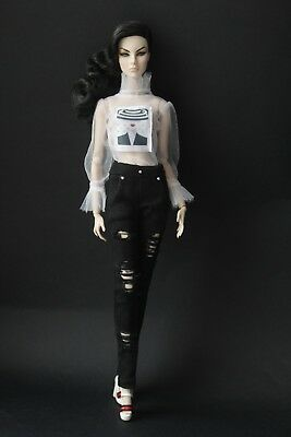 "Outfit for Fashion Royalty FR2, Color Infusion, Nu Face 2.0 and similar 12""dolls"