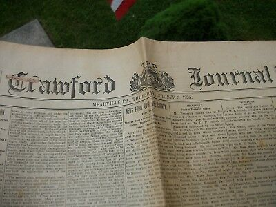 The Crawford Journal Meadville Pa. 1895