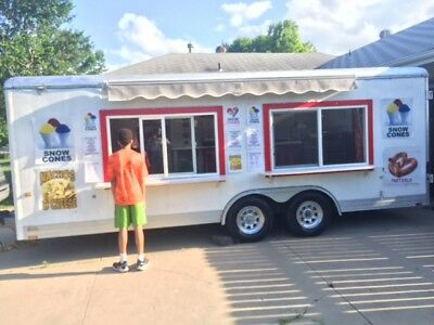 Concession trailer Fully Equipped  W/HOT DOG VENDING CART $$$$ (Extras) $$$$
