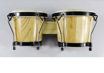 D07 New Percussion 6 and 7 inch High Quality Musical Instruments Bongo Drums O