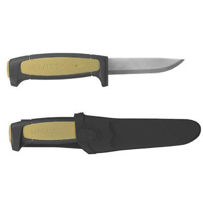 Mora Morakniv Basic 511 Black/Tan Skinner Carbon Steel Knife Sweden 511
