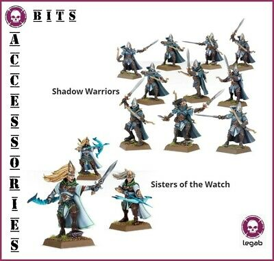 Bits Aelves Shadow Warriors Sisters Of The Watch High Elf Warhammer Aos