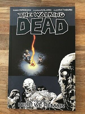 The Walking Dead Graphic Novel Vol 9 - Here We Remain - Excellent Condition