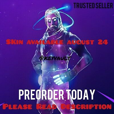 Fortnite Galaxy Skin! (Pre Order) Samsung Exclusive (Rarest Fortnite Skin!!)