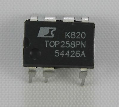 TOP258PN OFF LINE SWITCHER IC DIP-8 Power Integration inkl. IC Fassung