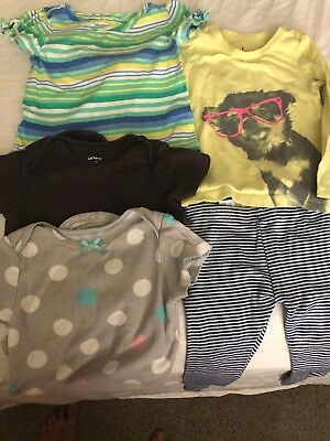 baby girl clothes 12-18 months bundle great condition old navy carters