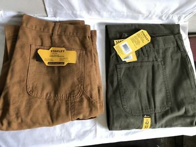 Stanley Canvas Utility Men's Pants Assorted Colors And Sizes