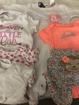 baby girl clothes 6-9 months lot