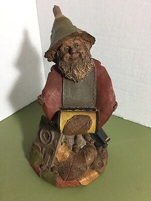 """Tom Clark Retired Gnome """"Flash"""" 7 1/2"""" Tall #39 Hand Signed by Artist"""