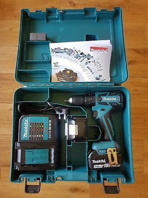 DHP459SFE MAKITA Perceuse visseuse à percussion sans fil 18 V Li-Ion 3 Ah Ø 13