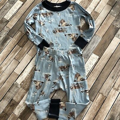 Hanna Andersson 18-24 Months Disney Frozen Limited Edition Two Piece Pajama Set